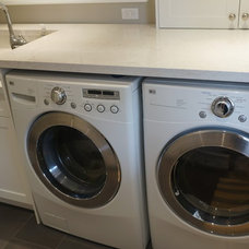 Laundry Room by Oakville Kitchen and Bath Centre