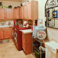 Eclectic Laundry Room Our home in Peyton, CO