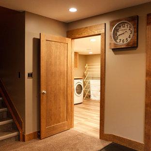 Laundry room - traditional laundry room idea in Calgary