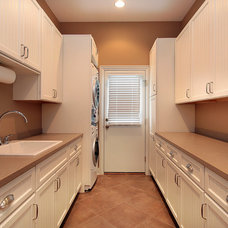 Traditional Laundry Room by Greenview Builders and Cabinetry Designers, Inc.