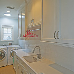 traditional laundry room by Jill Wolff Interior Design
