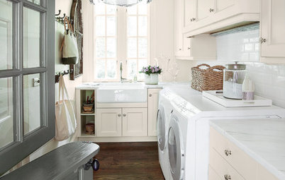 7-Day Plan: Get a Spotless, Beautifully Organized Laundry Room