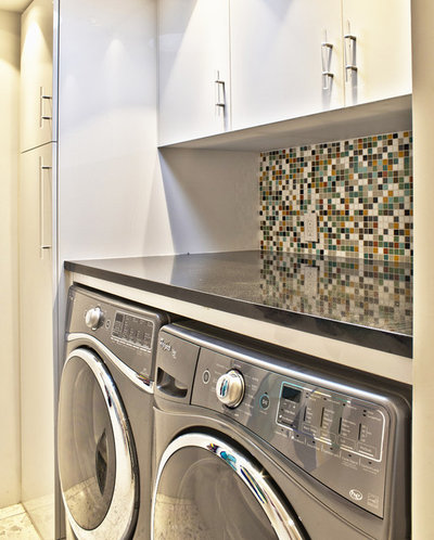 Perfect Midcentury Laundry Room by Bauer Clifton Interiors