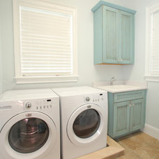 traditional laundry room by Devonshire Custom Homes