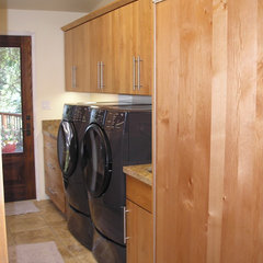 contemporary laundry room by Nancy Evans, Allied ASID