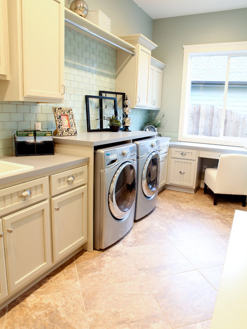 Laundry Room Designer: Laundry Room Hang Bar Home Design Ideas, Pictures, Remodel