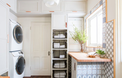 63-Square-Foot Laundry Room Fulfills a Long Wish List