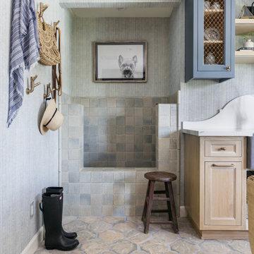 Pasadena Showcase House 2020 – The Mighty Mudroom with Pet Bath