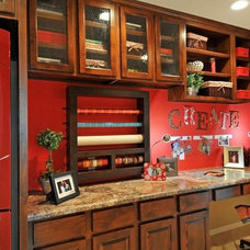 Traditional Laundry Room by Cachet Homes