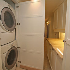 Traditional Laundry Room by Pathfinder Group Designs Inc.