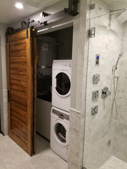 Best Laundry Closet with Marble Floors Design Ideas & Remodel Pictures | Houzz