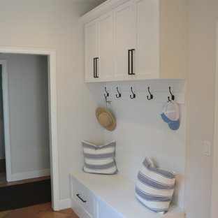 Southwest laundry room photo in Other