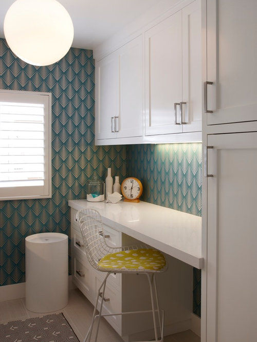 Laundry Room Desk Home Design Ideas Pictures Remodel And