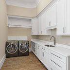 Racine Mud Room Addition For Dogs - Transitional - Laundry Room - Milwaukee - by S.J. Janis ...