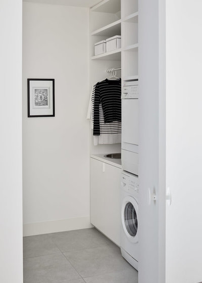 Contemporary Laundry Room by NORTHBOURNE Architecture + Design