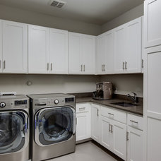 Traditional Laundry Room by Connie Anderson Photography