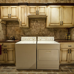 traditional laundry room by JMC Designs llc