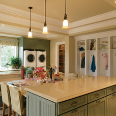 Traditional Laundry Room by House Plans and More