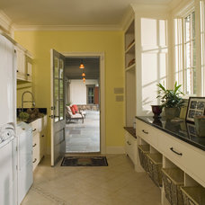 Traditional Laundry Room by Rill Architects