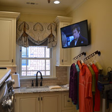 Traditional Laundry Room by Atlanta Audio & Automation