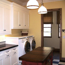 Traditional Laundry Room by Design Moe Kitchen & Bath / Heather Moe designer