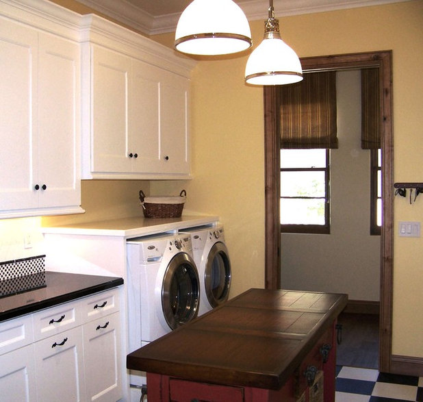 charming Kitchen And Laundry Room Designs #1: Traditional Laundry Room by Design Moe Kitchen u0026 Bath / Heather Moe designer