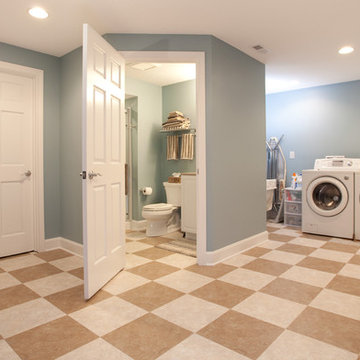 Power Drive Laundry and Bathroom Remodel