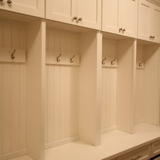Traditional Laundry Room by Premier Homes of Illinois, Inc