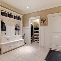 contemporary laundry room by John Bentley
