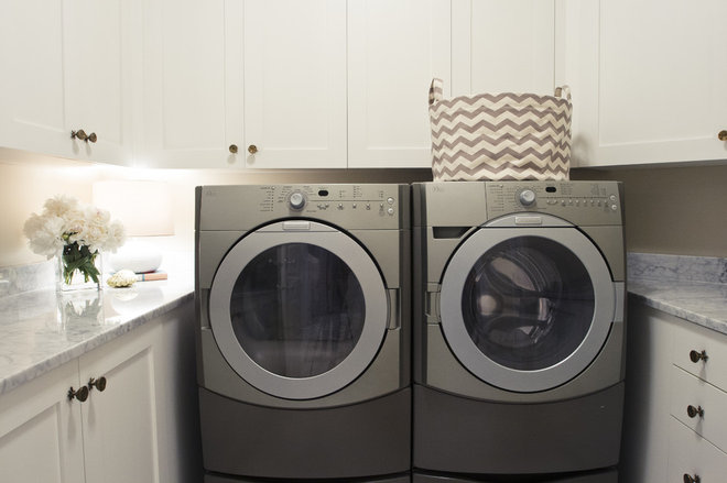 traditional laundry room by Alice Lane Home Collection