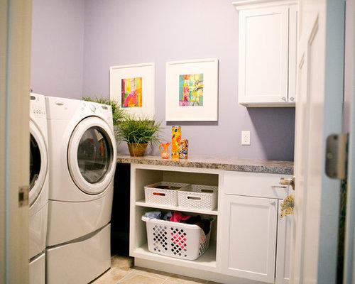 d coration buanderie violet. Black Bedroom Furniture Sets. Home Design Ideas