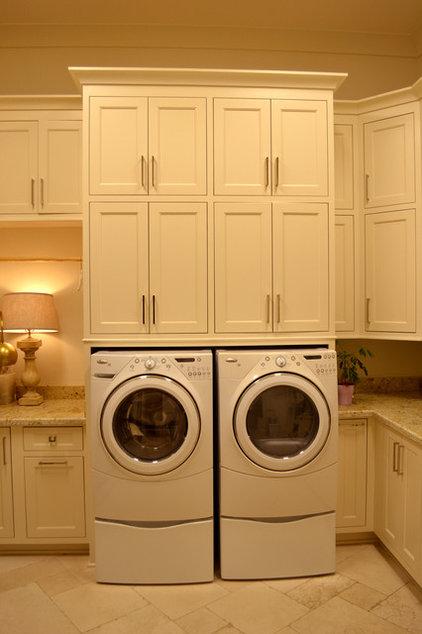 Traditional Laundry Room by RJ Elder Design