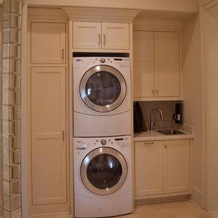 Foto di una lavanderia boho chic