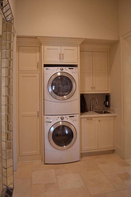 Eclectic Laundry Room by RJ Elder Design