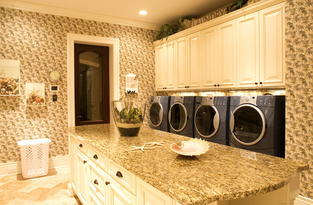 Traditional Laundry Room by Park Avenue Designs, Inc.