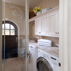Traditional Laundry Room by Greenfield Cabinetry