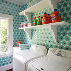 Traditional Laundry Room by Urban Home Magazine