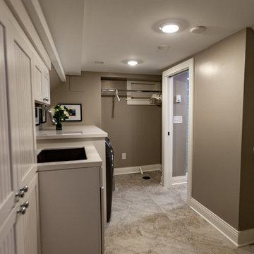 Project 3378-1 Basement Laundry + Bathroom + Family Room Seward Minneapolis