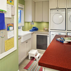 Traditional Laundry Room by Pam Carroll Planning & Design