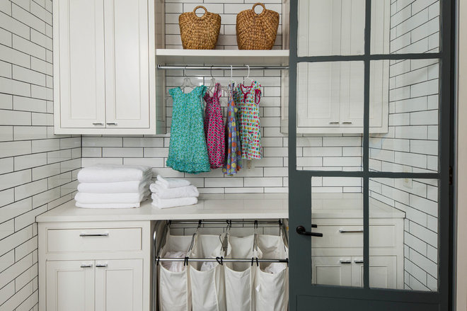 Modern Laundry Room by Austin and Co. Architecture and Design