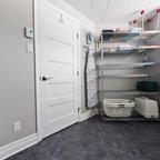 Laundry Room Storage Contemporary Laundry Room