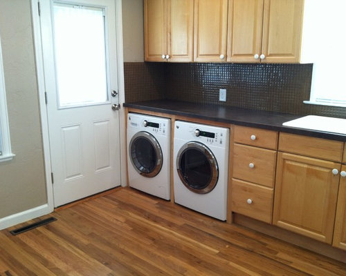 Front load undercabinet washer and dryer home design ideas for Under cabinet washer and dryer