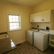Traditional Laundry Room by Matthew Bowe Design Build, LLC