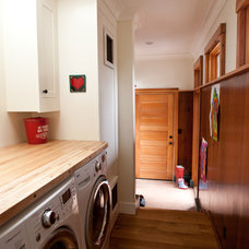 Traditional Laundry Room by Pecota White Building & Design