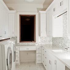 Traditional Laundry Room by Hollub Homes