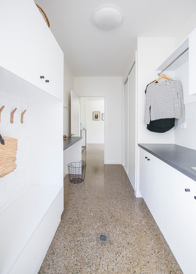 Contemporary Laundry Room by Ethos Interiors