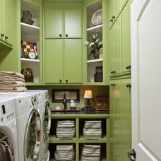 traditional laundry room by Classically Yours Interiors (CYInteriors)