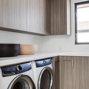 Bild på en funkis tvättstuga