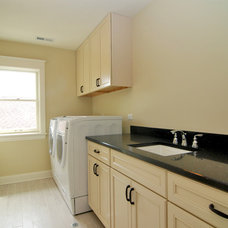 Traditional Laundry Room by Kipnis Architecture + Planning