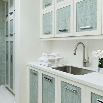Ravine View Home Laundry Room
